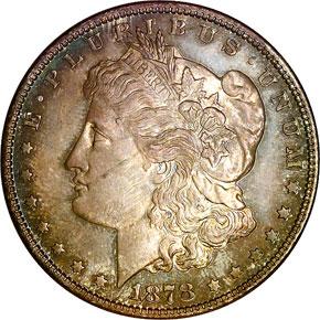 1878 8TF S$1 PF obverse