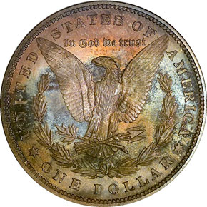 1879 S$1 PF reverse