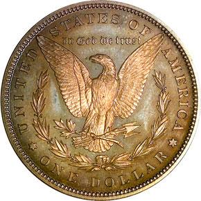 1889 S$1 PF reverse
