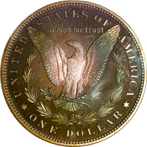 1891 S$1 PF reverse