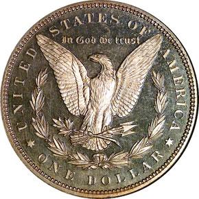 1893 S$1 PF reverse