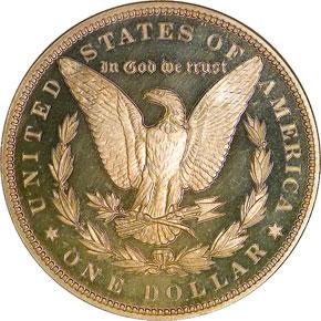 1900 S$1 PF reverse