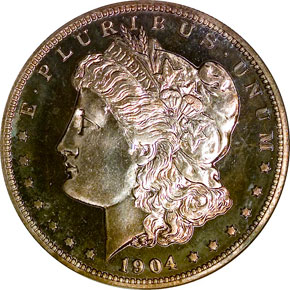 1904 S$1 PF obverse