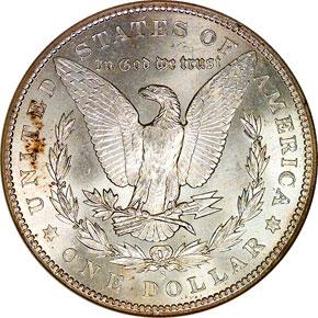 1903 S S$1 MS reverse