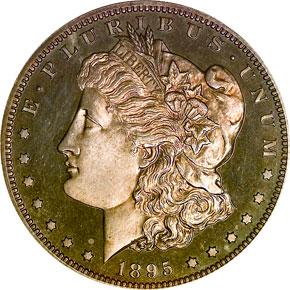 1895 S$1 PF obverse