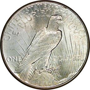 1934 S$1 MS reverse