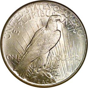 1925 S$1 MS reverse
