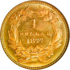 1877 G$1 MS reverse