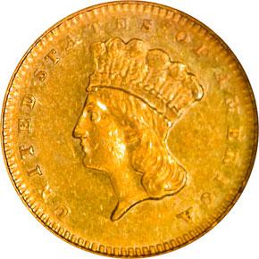 1879 G$1 MS obverse