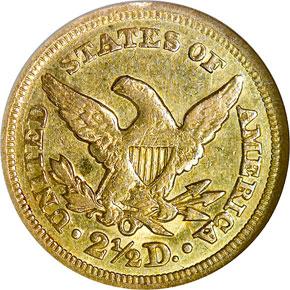 1850 O $2.5 MS reverse