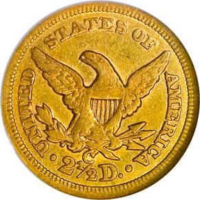 1855 C $2.5 MS reverse