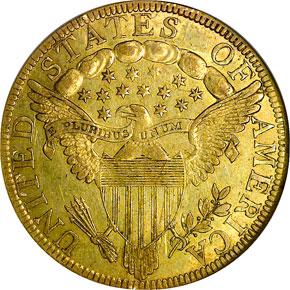 1798/7 STARS 9X4 $10 MS reverse