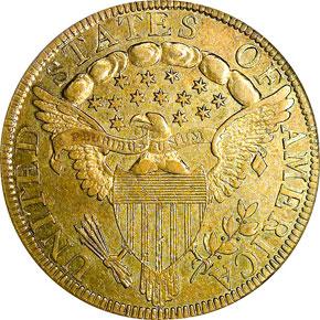 1798/7 STARS 7X6 $10 MS reverse