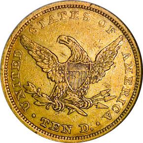 1841 $10 MS reverse
