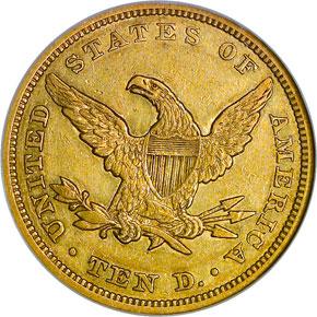 1845 $10 MS reverse