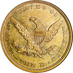 1847 $10 MS reverse