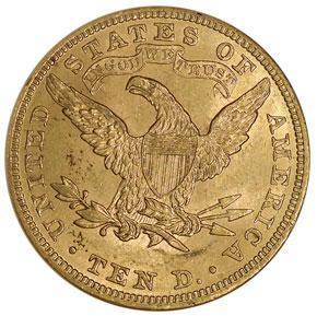 1902 $10 MS reverse