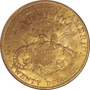 1903 S $20 MS reverse