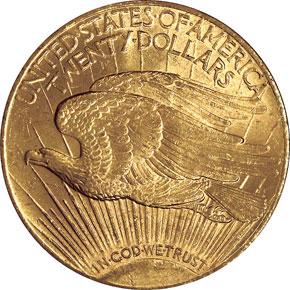 1910 S $20 MS reverse