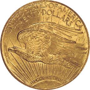1911 $20 MS reverse