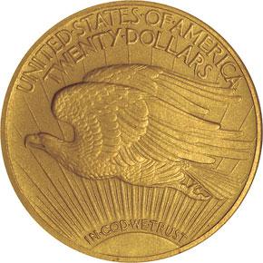 1912 $20 PF reverse