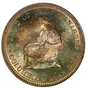 1893 ISABELLA 25C MS reverse