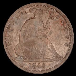 1844 O 50C MS obverse