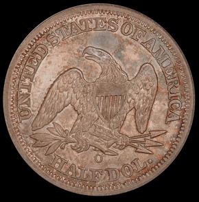 1844 O 50C MS reverse