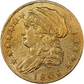 1808 BD-1 $2.5 MS obverse