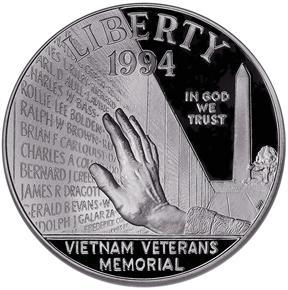 1994 P VIETNAM S$1 PF obverse