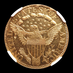 1798 LARGE EAGLE $5 MS reverse