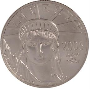 2006 W EAGLE P$100 MS obverse