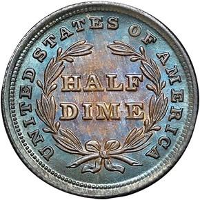 1838 LARGE STARS H10C MS reverse