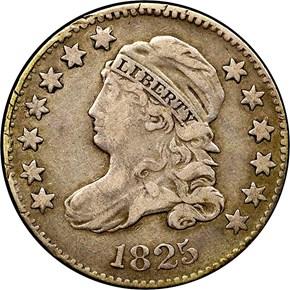 1825 10C MS obverse