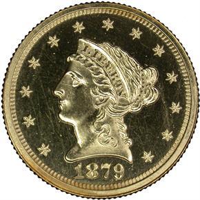 1879 $2.5 PF obverse