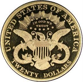 1881 $20 PF reverse