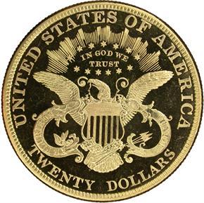 1882 $20 PF reverse