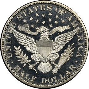 1915 50C PF reverse
