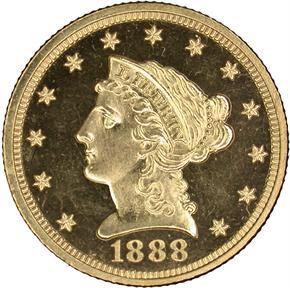 1888 $2.5 PF obverse