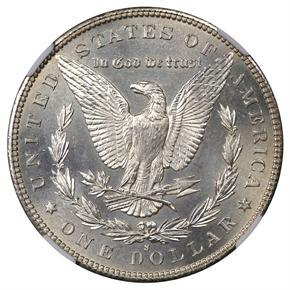 1893 S S$1 MS reverse