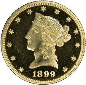 1899 $10 PF obverse