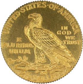 1909 $2.5 PF reverse