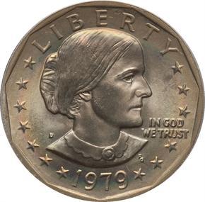 1979 D $1 MS obverse