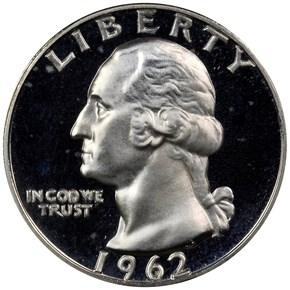 1962 25C PF obverse