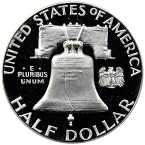 1962 50C PF reverse