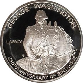 1982 S WASHINGTON 50C PF obverse