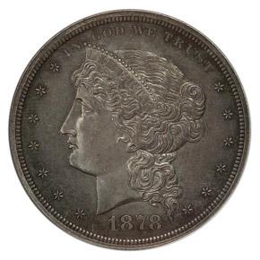 1878 J-1554 S$1 PF obverse