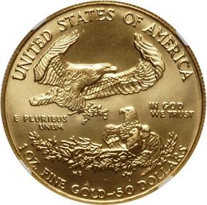 1992 EAGLE G$50 MS reverse