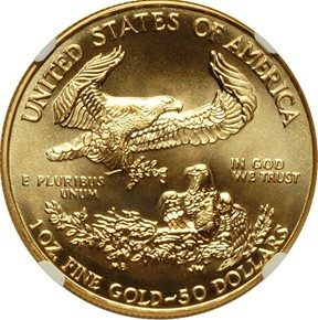 1994 EAGLE G$50 MS reverse