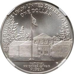 1994 W POW MUSEUM S$1 MS reverse